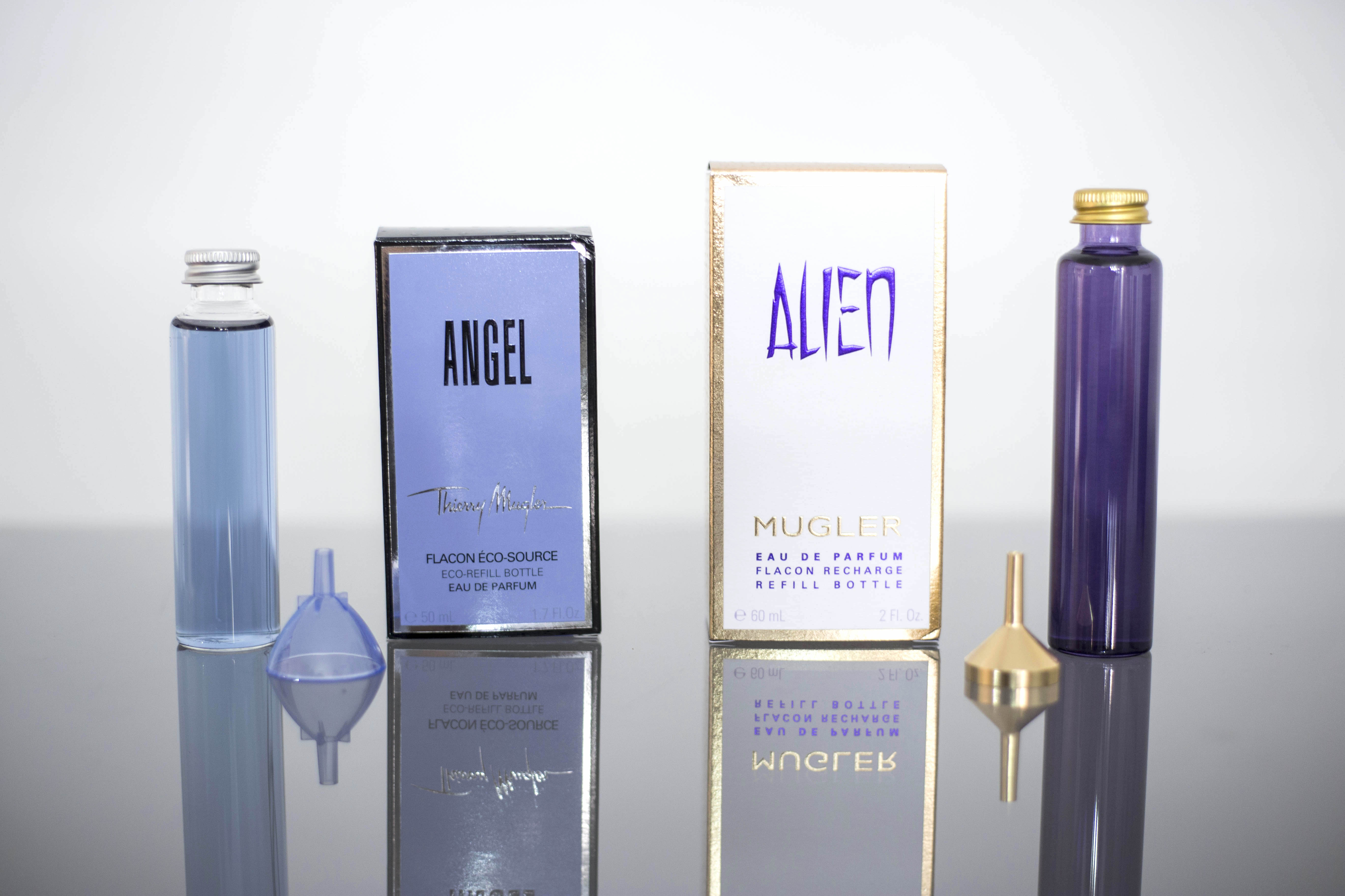 Fashion Breed Blog Archive Angel Alien By Mugler Refilling At